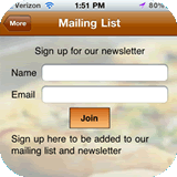 contrapption email list opt-in